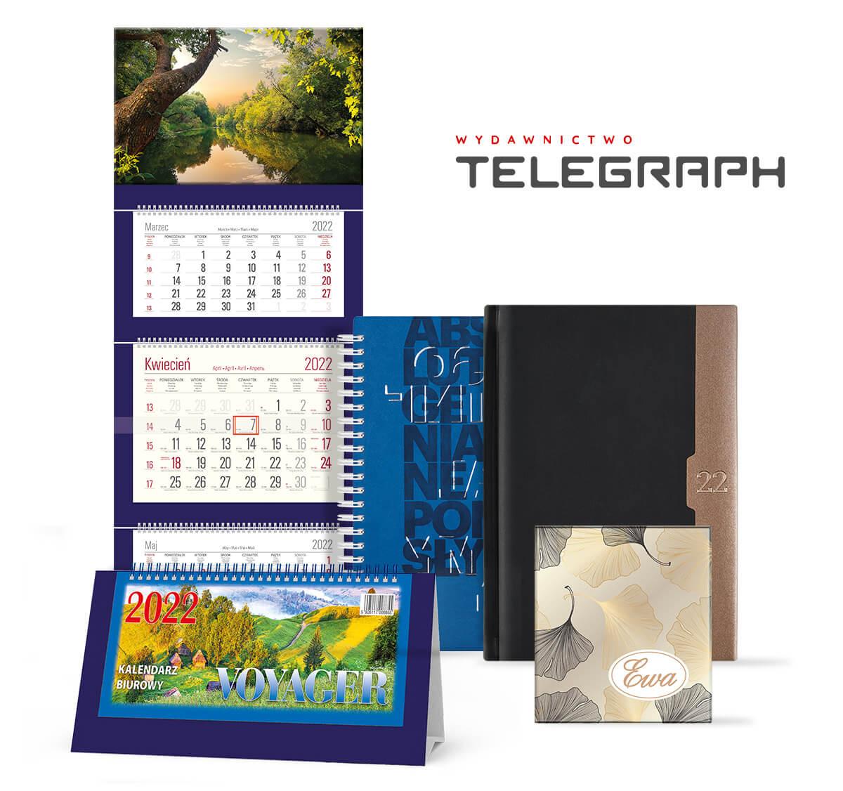 Telegraph - producent kalendarzy