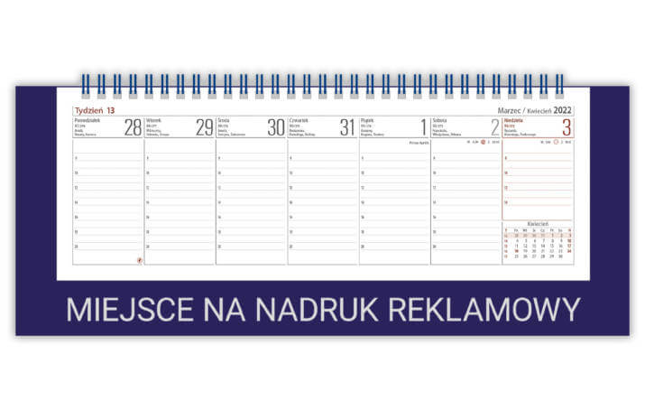 Kalendarz biurowy VOYAGER