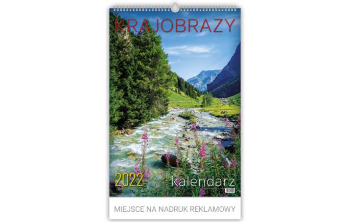 Kalendarz wieloplanszowy KRAJOBRAZY
