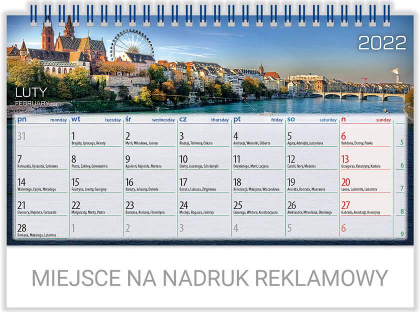 telegraph kalendarz biurowy explorer
